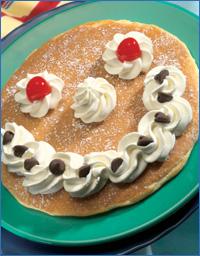 Delicious pancake feast