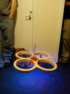Homemade quadcopter